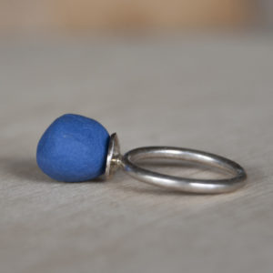 Ring porcelein donkerblauw7
