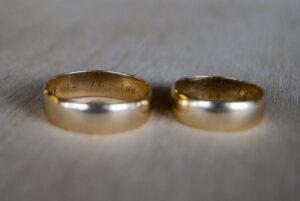 Oude trouwringen