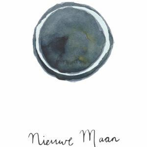 Kaart nieuwe maan