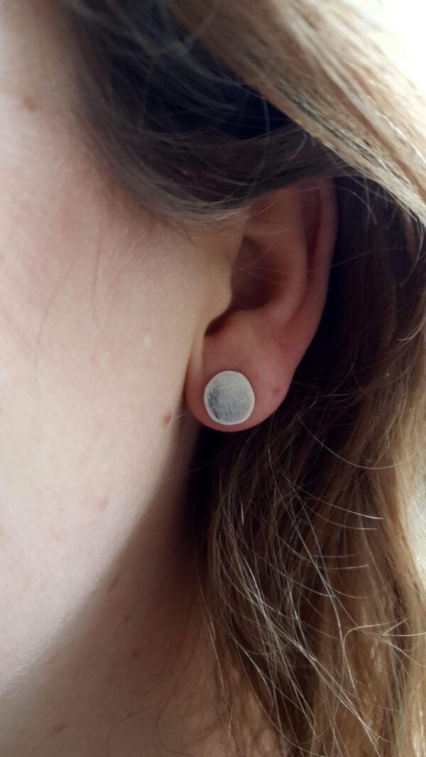 Volle maan oorbellen