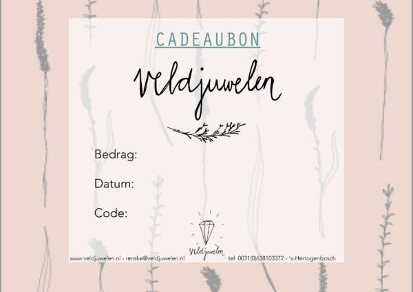 Sieraad Cadeaubon